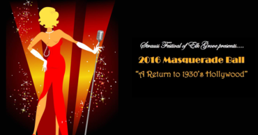 "2016 Masquerade Ball – ""A Return to 1930's Hollywood"""